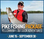 3 Day Pike Fishing Package