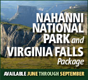 NahannI National Park and Virginia Falls