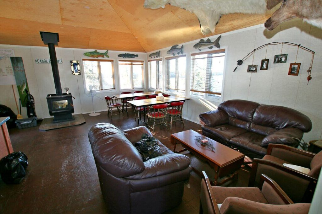 Inside the aurora cabin